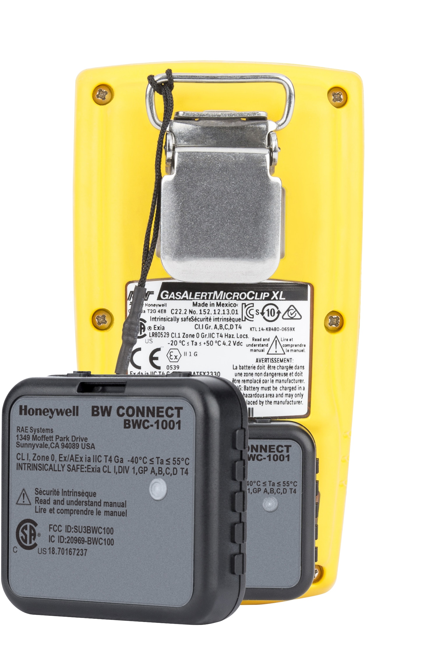 Honeywell BW™ Connect for wireless gas detection