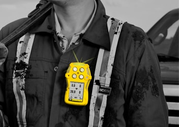 Multi-gas detector for confined space entry – GasAlertQuattro - Honeywell Analytics