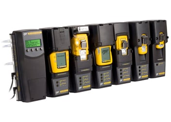 Manage up to ten modules of BW's portable gas detectors - MicroDock II - Honeywell Analytics